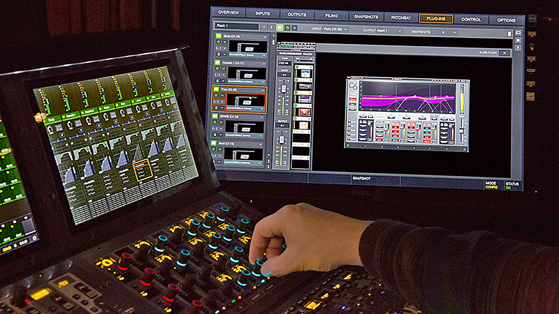 Using Waves SoundGrid with Avid VENUE | S6L « FOH | Front of