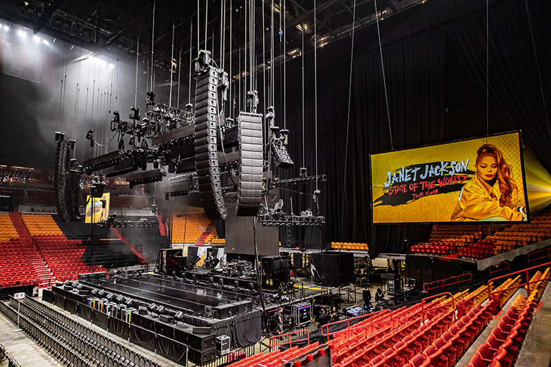 Janet Jackson 'State of the World' Tour « FOH | Front of