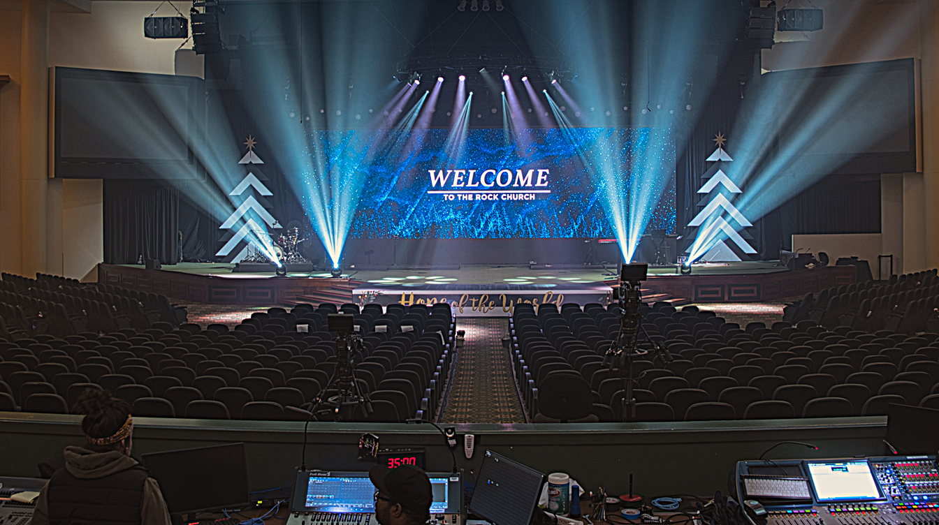 The Rock Church Gets First K-array KH2 System in So. Calif