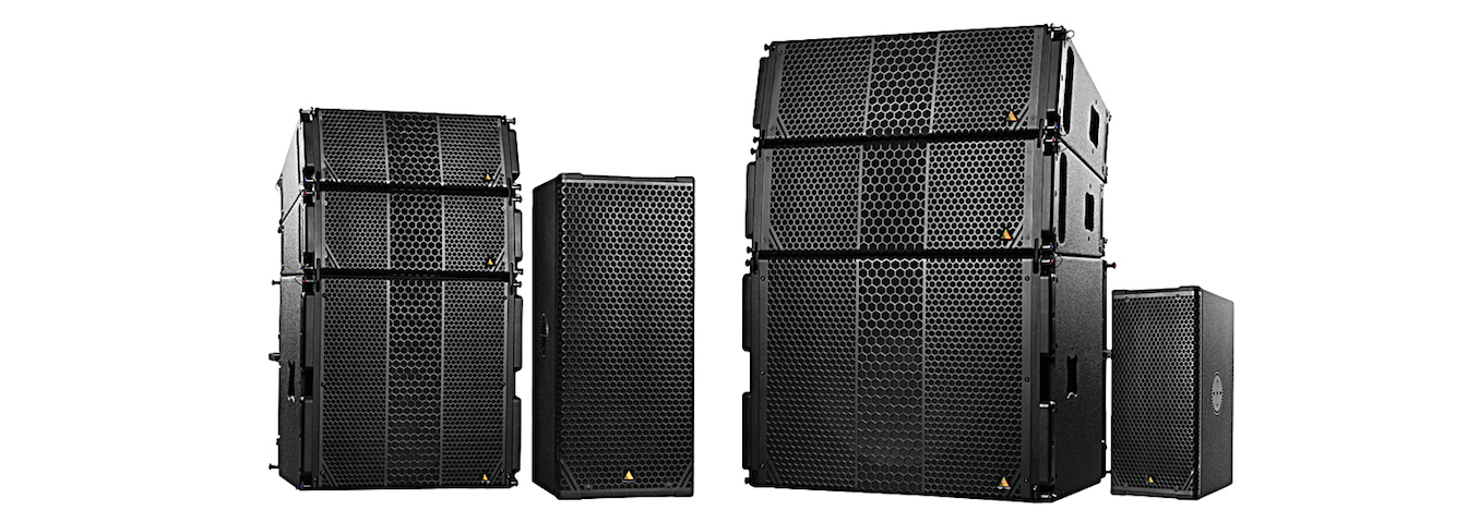 Adamson's new CS powered speakers