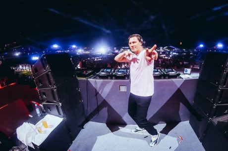 Tiesto supported by Adamson S-Series DJ monitors at ISY Festival