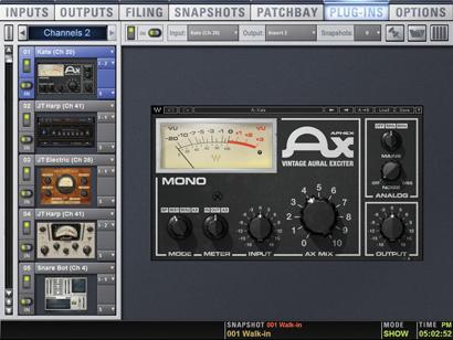 Waves Plugins (Part 4): Aphex Vintage Aural Exciter « FOH