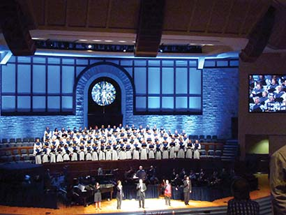Crossings Community Church Equipped with Three DiGiCo