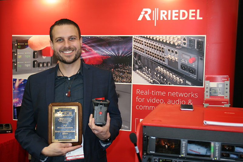 FOH Presents Gold Star Product Awards at NAMM « FOH | Front of House
