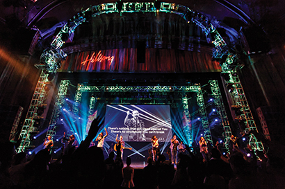 Hillsong Churchs Dominion Theatre In London Recently Installed A Digital Intercom System From Riedel