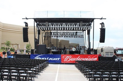 Toledo Casino's Outdoor Amphitheatre Equipped with RCF Gear