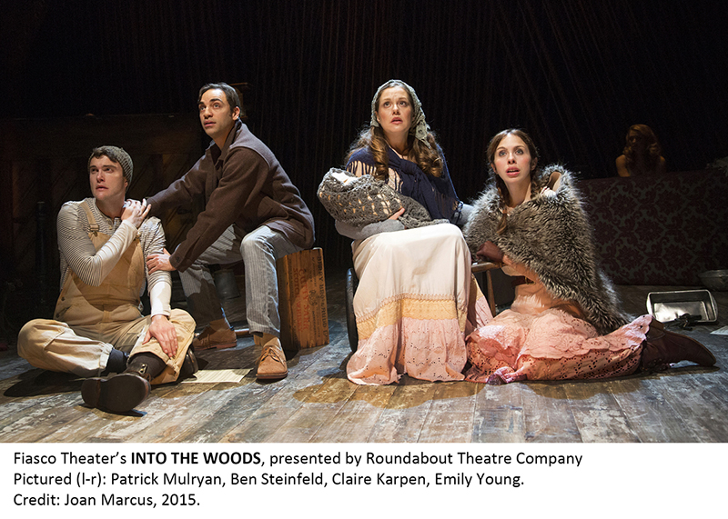 "Off Broadway Revival for ""Into the Woods"" Gets Masque Sound Support"