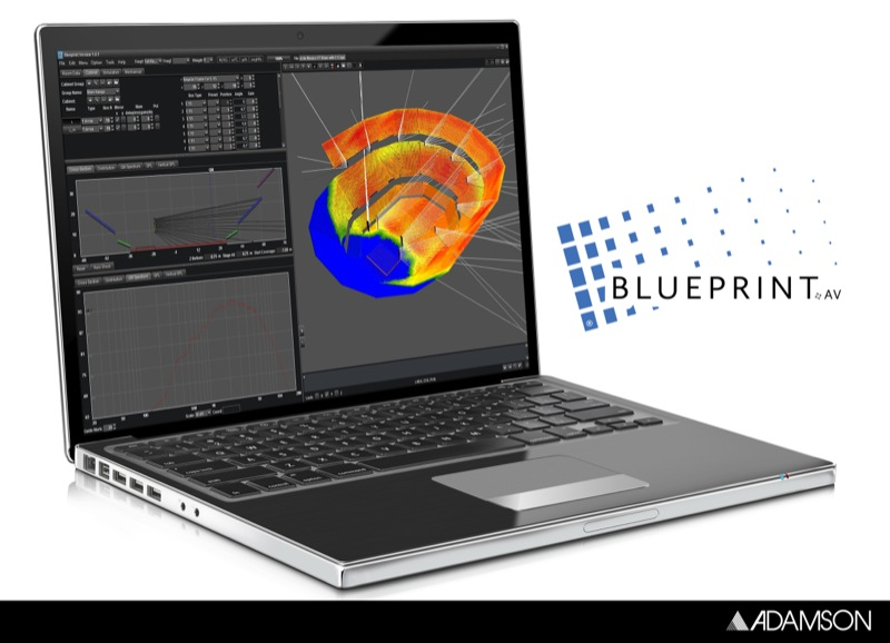 Adamson Blueprint AV 3D Modeling Software Now Available for Free