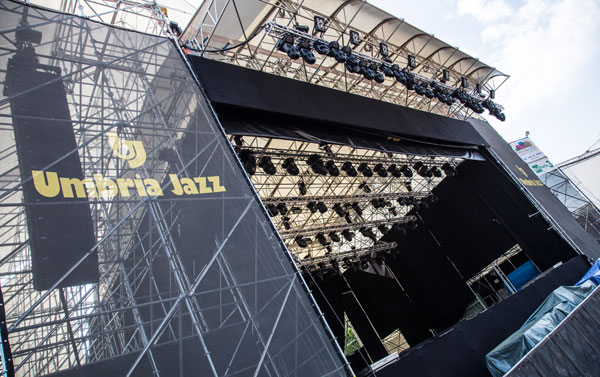 Umbria Jazz Festival Setup Includes RCF Gear « FOH | Front