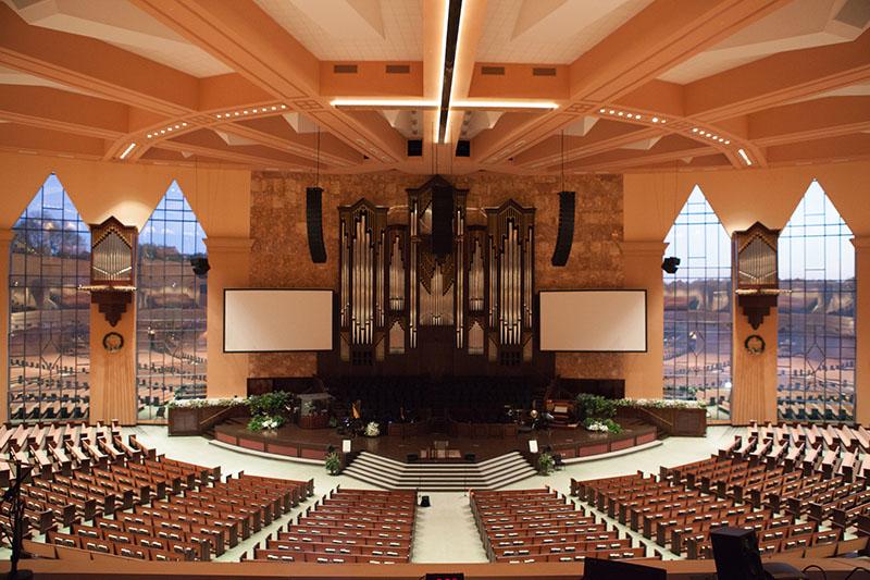 Calvary Church In Charlotte Nc Installs Martin Audio Mla System