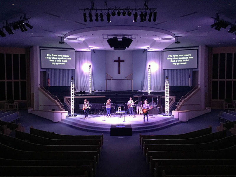 Oklahoma Church Using Danley System For Clic And