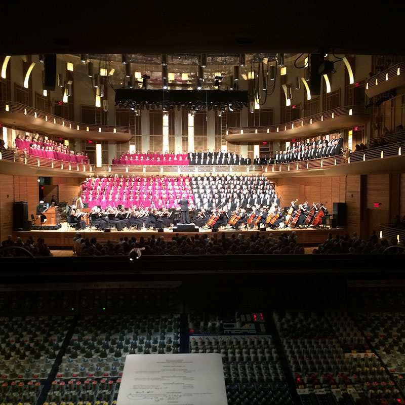 The Mormon Tabernacle Choir Performs with DPA Microphones « FOH ...