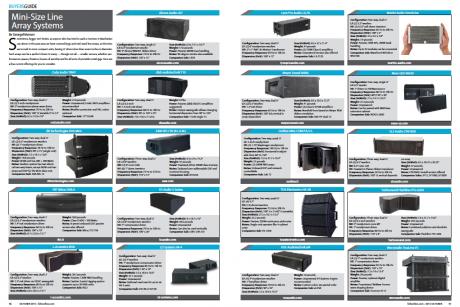 Mini-Size Line Array Systems