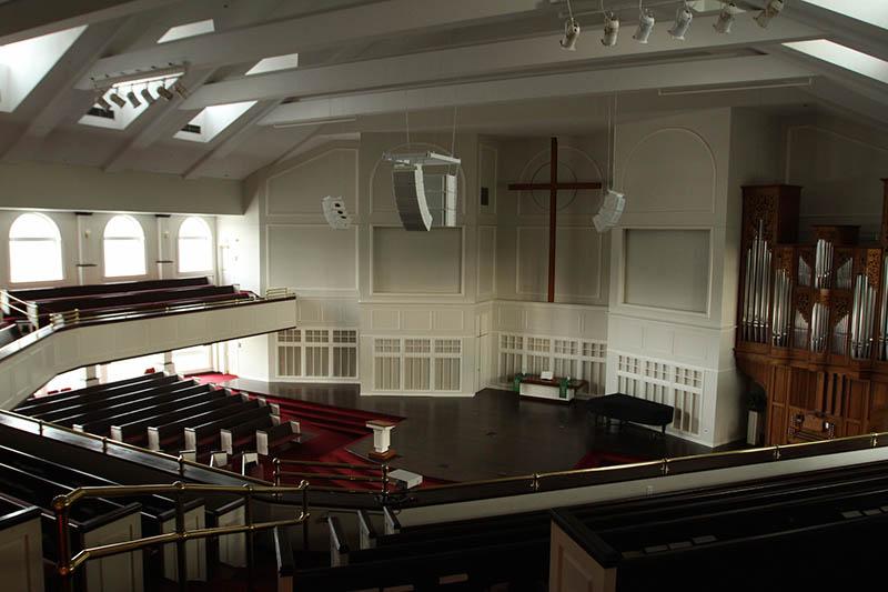 Reach Communications provided Nexo and Yamaha Gear for Christ Presbyterian Church in Edina, MN
