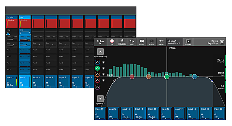 DiGiCo S-Series V 2.6 software