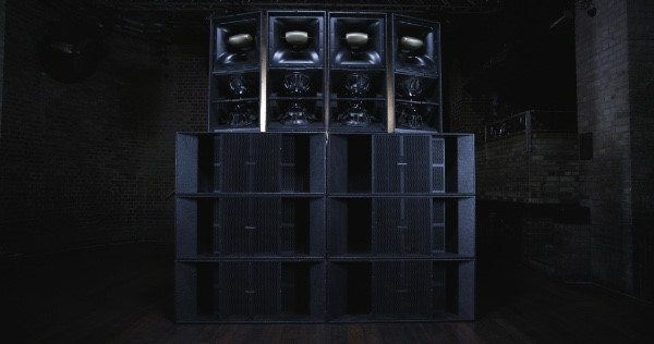 Pioneer Pro Audio Xy 3b And Xy 2 Speakers 171 Foh Front Of