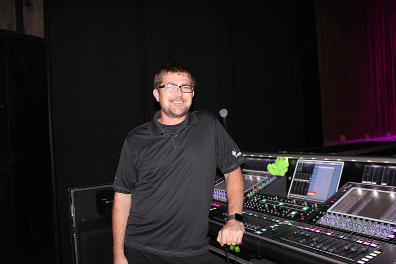 Alex MacLeod at monitors
