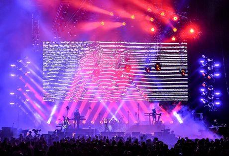 Depeche Mode tour photo by Steve Jennings