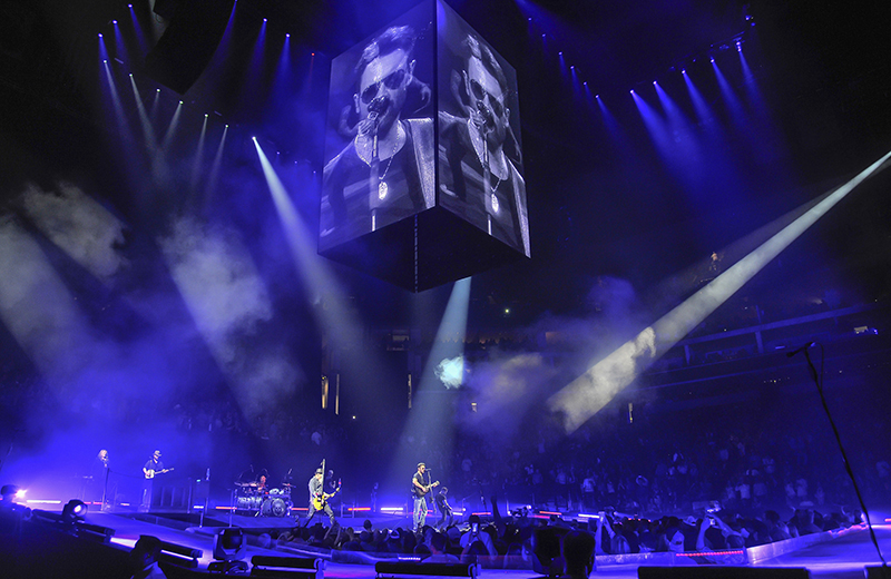 Eric Church tour photo by Steve Jennings