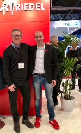 For DeltaLive, this is a new and exciting partnership and is the first step in its ambition to become the UK's premier communications company and a Riedel powerhouse.