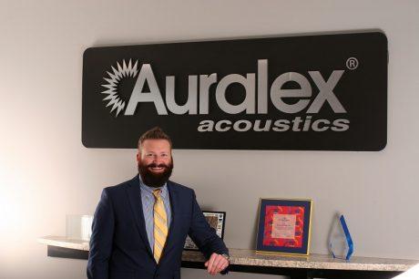 James Horton, Western Regional Manager for Auralex® Acoustics.