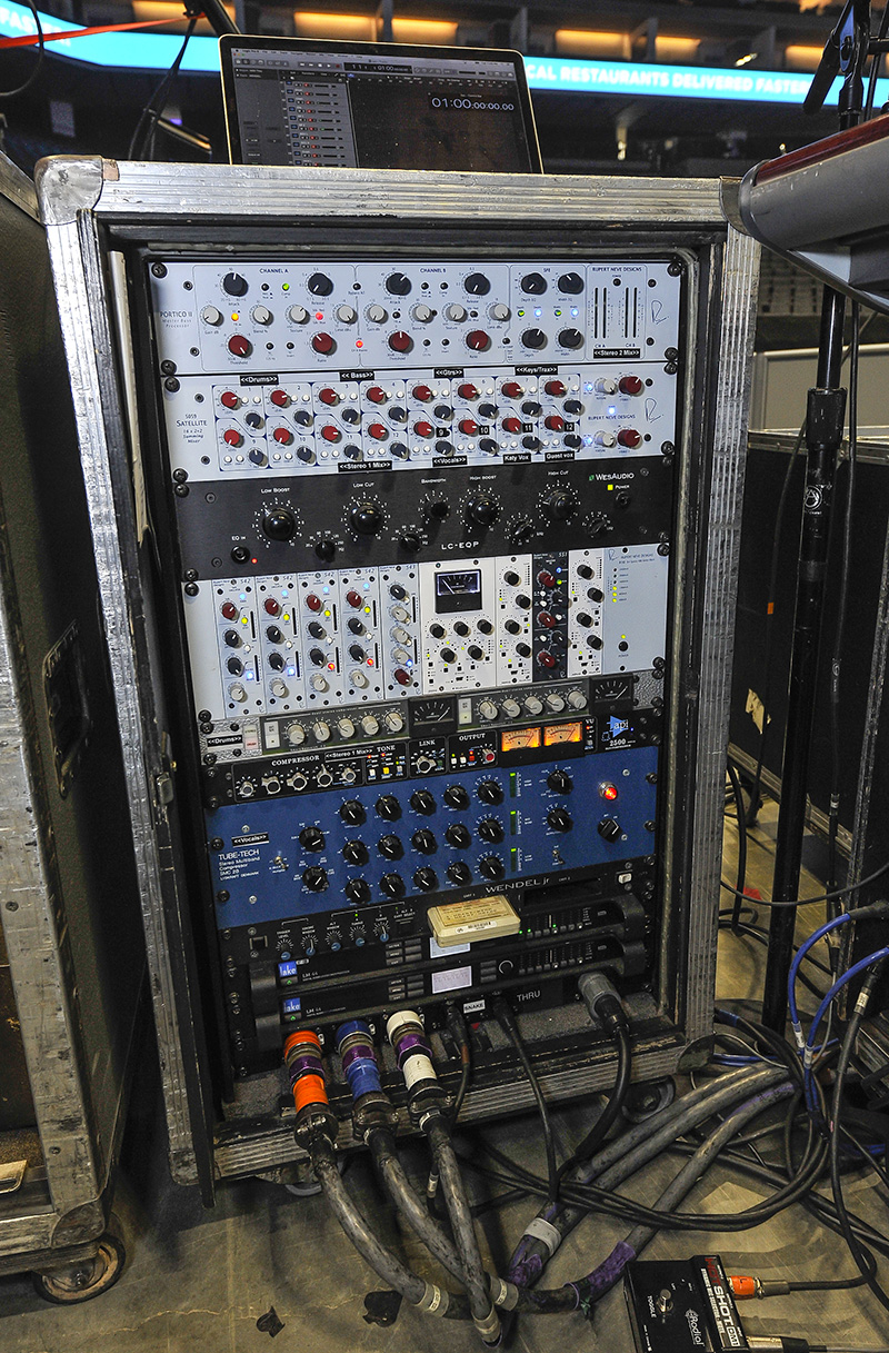 KATY PERRY   FOH OUTBOARD RACK by Steve Jennings