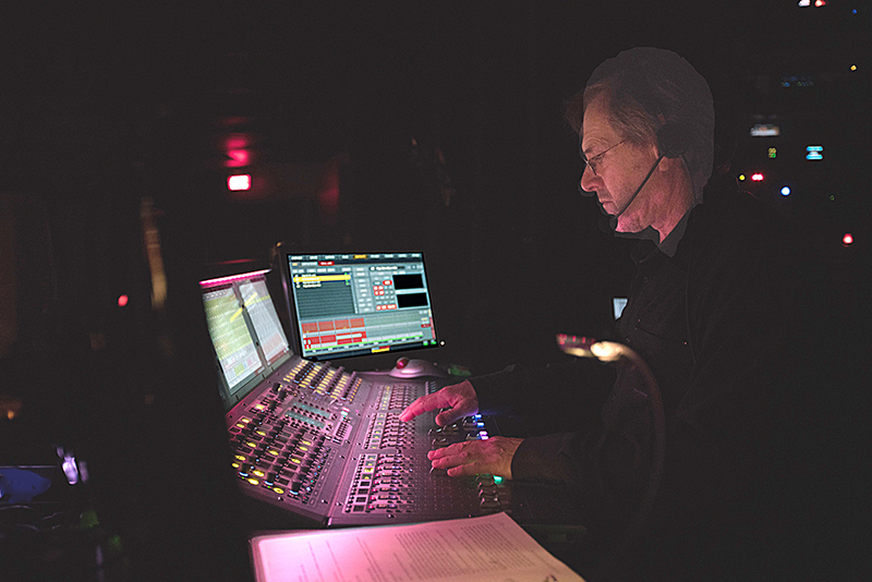 Robert Caux with Avid Venue S6L in the Salle Octave Cremazie