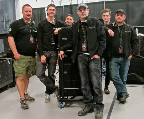 The SIP crew, from left - Dan Devisser, Sammy Skalbeck, Matt Dominguez, Shannon Stewart, Christian Chambers and Austin Lanning