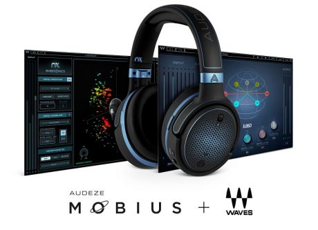 Waves Nx technology has been implemented to power Audeze Mobius headphones