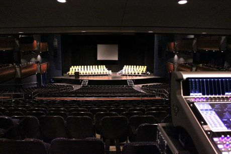 The 2,477-seat Thelma Gaylord Performing Arts Theatre at Oklahoma City's Civic Center Music Hall, now home to DiGiCo SD7T and SD5 mixing consoles