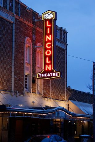 Lincoln Theater Marquee