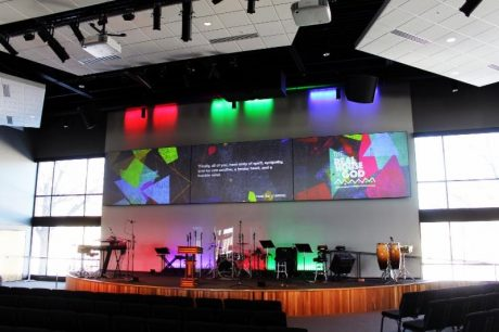The Sanctuary required a compact sound system with accurate tonal balance, high output and precise directivity.
