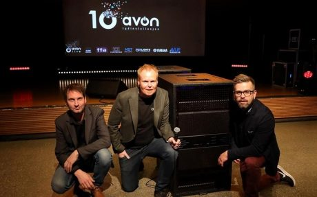 For a week the end of last year, the scene at avon in Trondheim Norway looked more like a live music festival than corporate event as VUE's distributor, installer and live sound company celebrated 10 years in business.