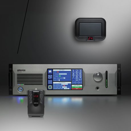 Alteros GTX Series L.A.W.N.™ (Local Area Wireless mic Network) 6.5 GHz Ultra-Wideband (UWB) system