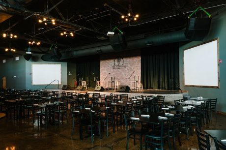 The new location of Nashville venue The Listening Room, featuring loudspeaker systems from Bose Professional. Photo by Quinn Ballard. © 2017.