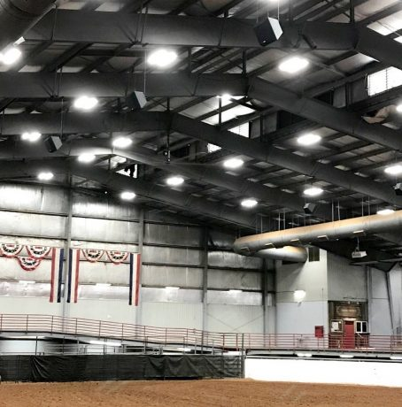 Texas-based Bock Technologies upgrades the Main Arena of the Somervell County Expo Center with a new EAW distributed sound system.
