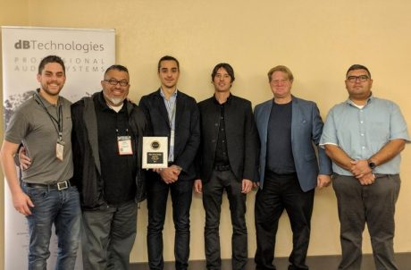 Mac West Group Receives dBTechnologies 2017 Rep of the Year Award