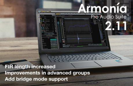 Armonia Pro Audio Suite 2.11