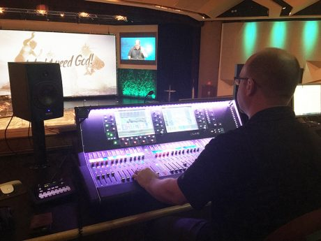 Mixes at the 1,800-seat Christian Life Assembly (Camp Hill, PA) on an Allen & Heath dLive console can range from a praise band and choir to full orchestra.