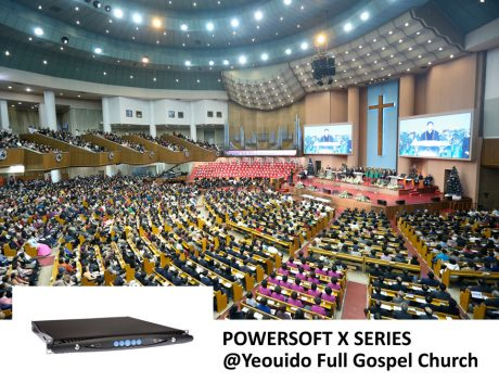 When old and outdated amplifiers began to cause frequent errors at Yeouido Full Gospel Church, an upgrade was imperative.