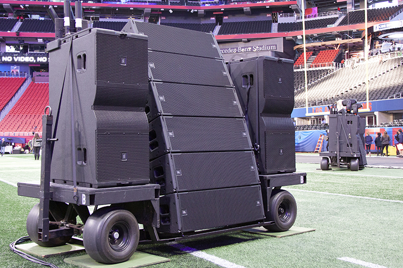ATK Audiotek Provides JBL System for Super Bowl LIII