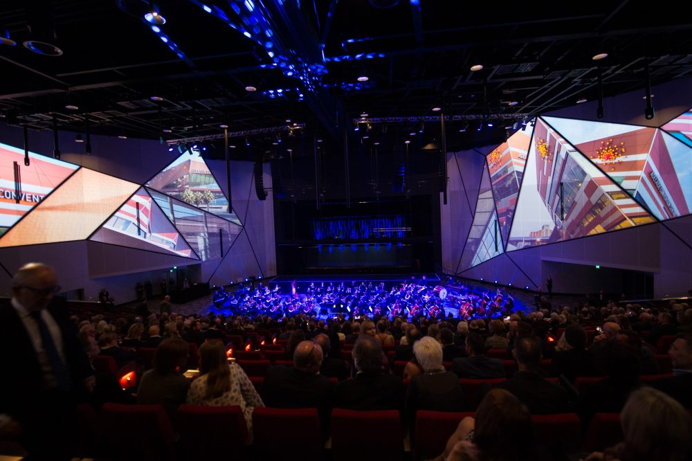 Adelaide Convention Centre has selected Riedel's MediorNet and Artist to provide comprehensive signal transport and comms.