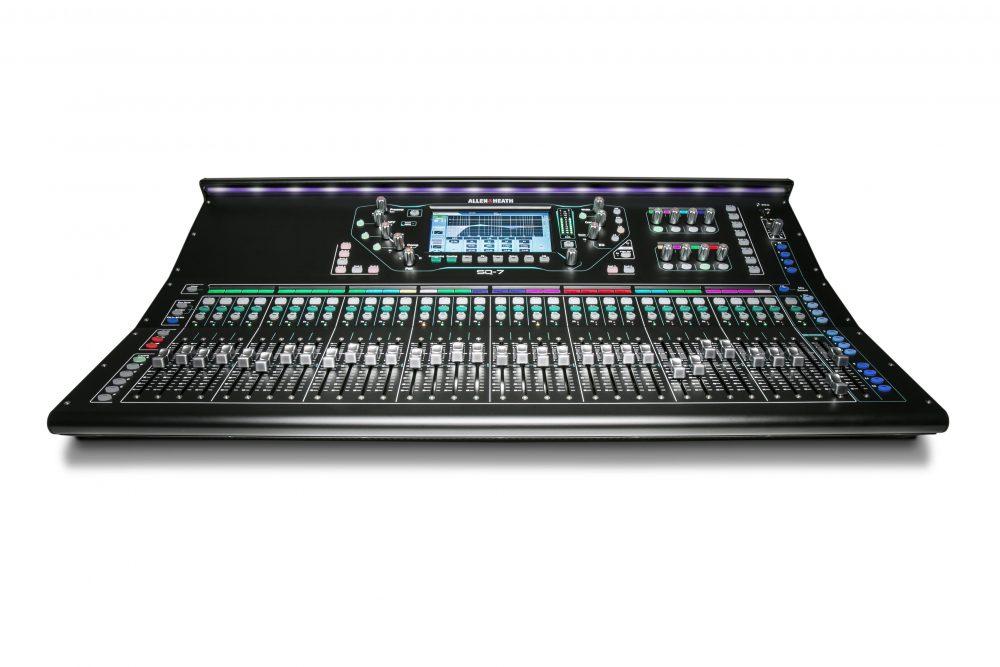 SQ-7 digital mixer.