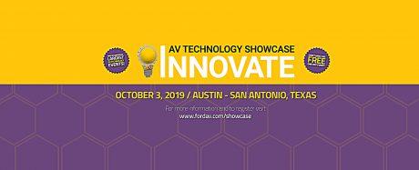 Ford AV's Innovate AV Technology Showcase 2019