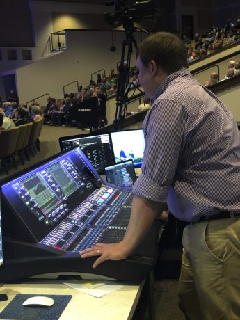 Wade Summerford Mixes FOH on the dLive S7000 Surface