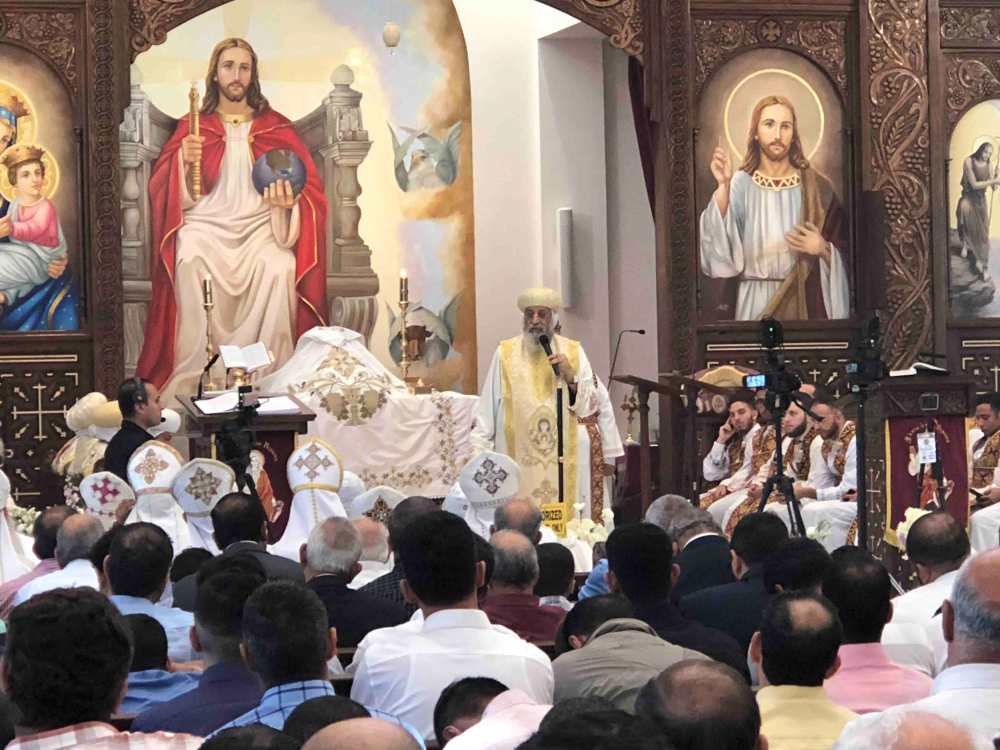 A Worship Service at St.Verena Coptic Church