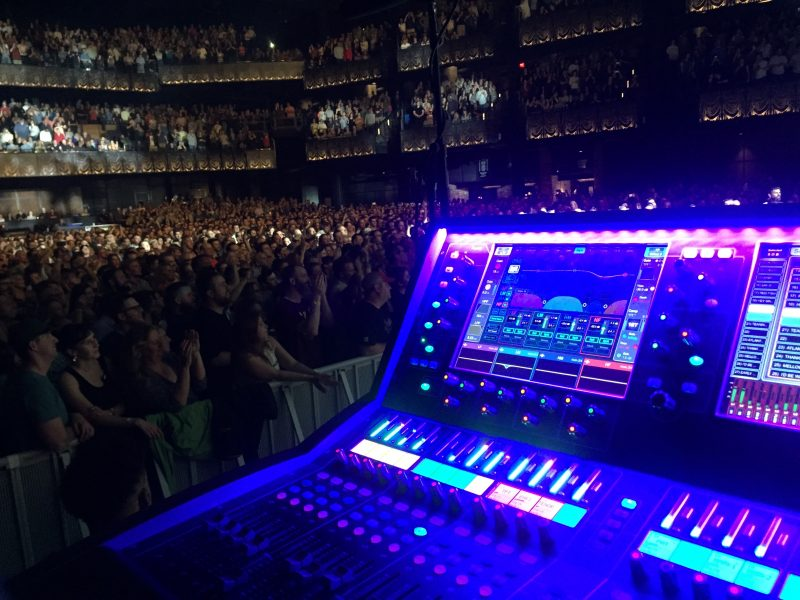 Allen & Heath dLive S5000 at Monitors for Nathaniel Rateliff at the Anthem in Washington, DC