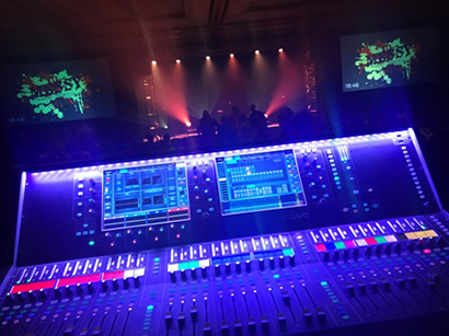 B4 Media Production Using Allen & Heath dLive S7000 for