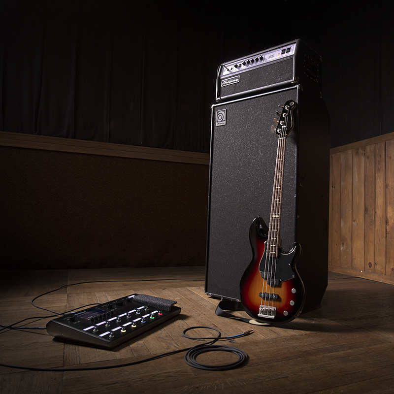 Ampeg bass amps and pedals will join existing offering of guitar products from Yamaha and Line 6