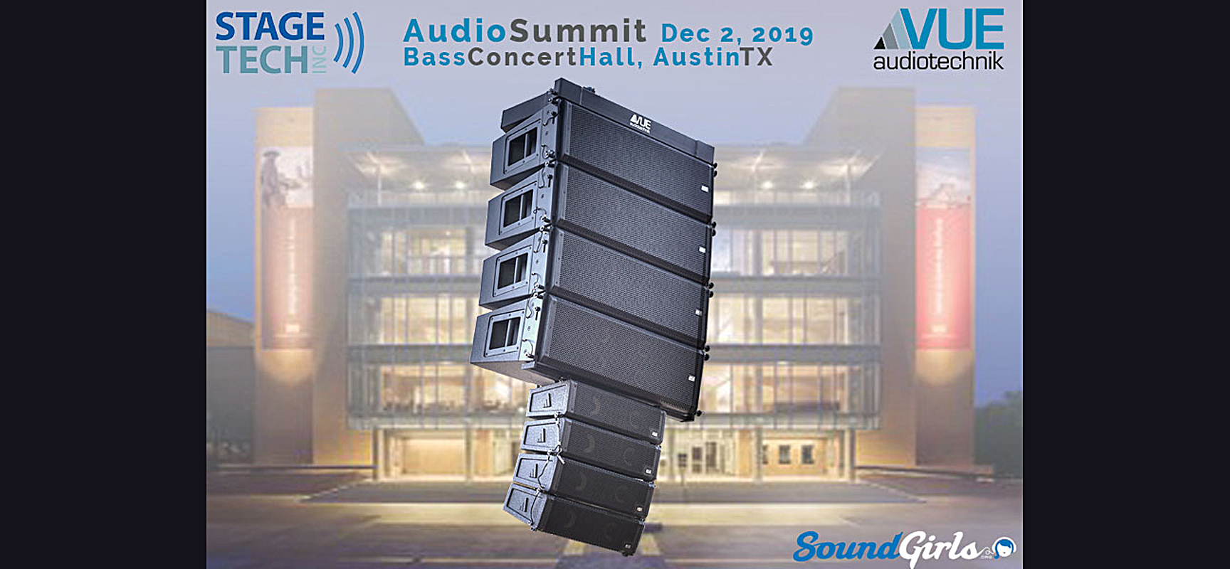 VUE, Stage Tech and Sound Girls Present Audio Summit in Austin